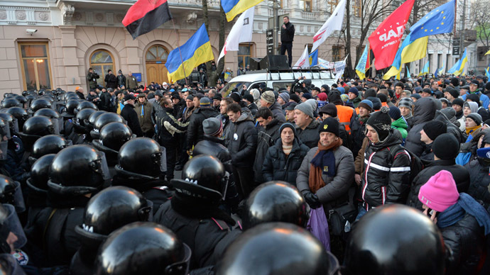 Ukraine govt survives 'no confidence' vote amid mass protests