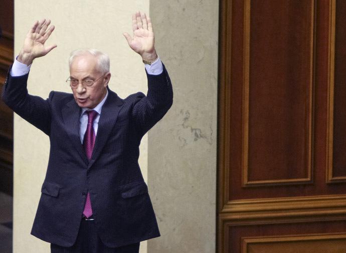 Ukranian Prime Minister Mykola Azarov (Reuters/Gleb Garanich)