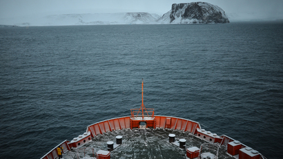 Iceberg alert: Vigilance the watchword for Russian Navy on hazardous Arctic voyage