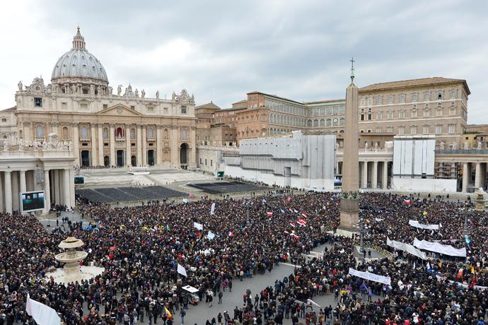 Vatican City (AFP Photo / Alberto Pizzoli)