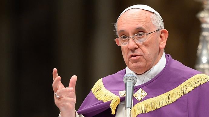 Pope Francis (AFP Photo / Andreas Solard)