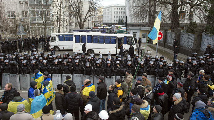 Ukraine opposition vows to maintain protests, PM calls to end violence