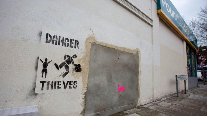 Perfect irony: Walmart caught selling Banksy's anti-consumerist art