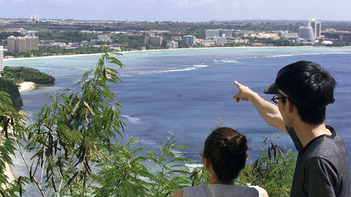 The view on Tumon Bay, Guam (Reuters)