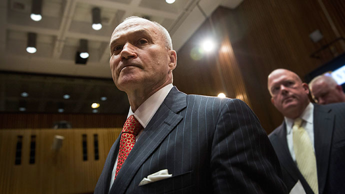New York Police Department (NYPD) Commissioner Ray Kelly (AFP Photo / Andrew Burton)