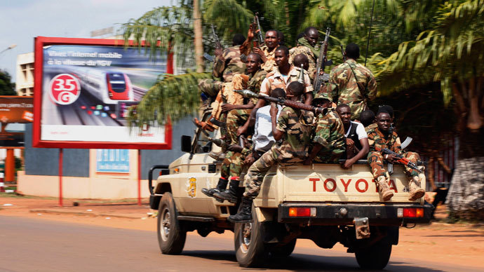 UN sanctions 'immediate' military intervention in Central African Republic