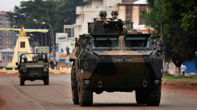 French reinforcements land in Central African Republic