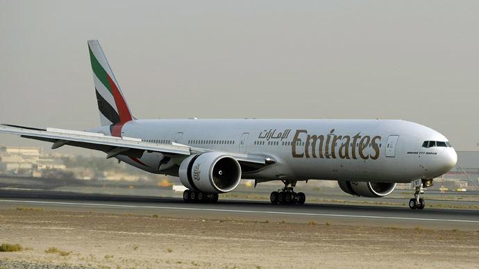 'Never getting on a plane again': Jumbo jet aborts crosswind landing in storm-battered UK