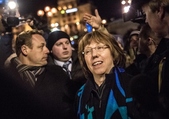 Catherine Ashton (RIA Novosti / Andrey Stenin)