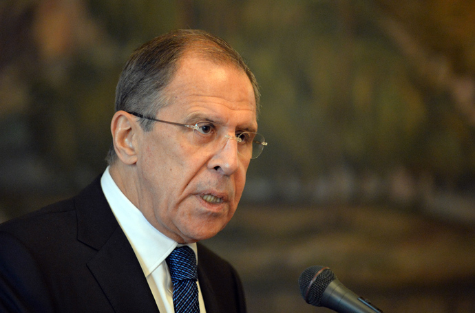 Russian Foreign Minister Sergey Lavrov (AFP Photo)