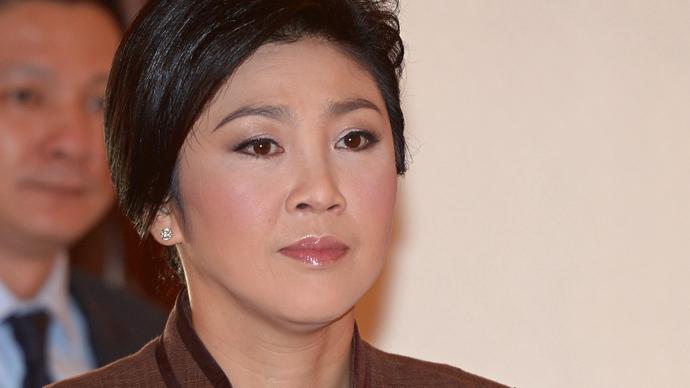 Thai Prime Minister Yingluck Shinawatra (AFP Photo / Pornchai Kittiwongsakul)