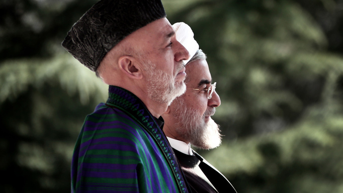 Afghanistan agrees on regional security pact with Iran