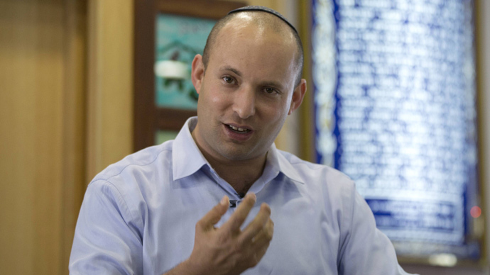 Israeli minister suggests annex of West Bank settlements