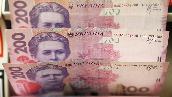 Ukraine currency sell-off puts reserves at 7yr low