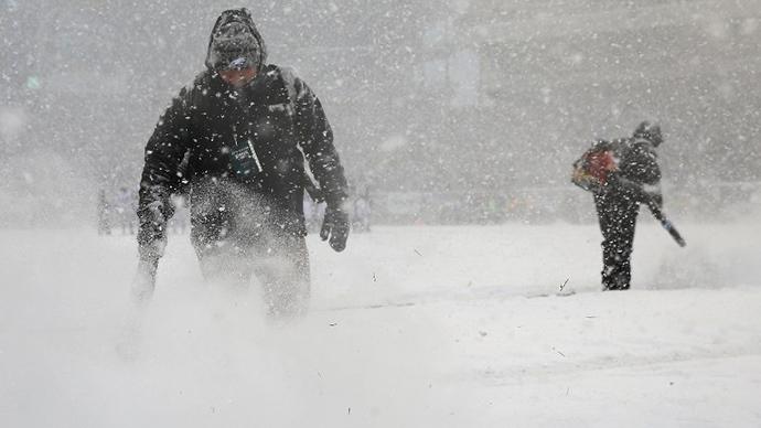 Gigantic snowstorm paralyses North East US