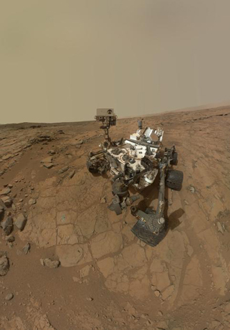 NASA's Curiosity Mars rover (AFP Photo / NASA)