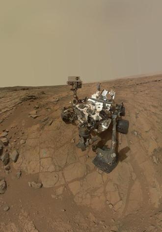 NASA's Curiosity Mars rover (AFP Photo / NASA)