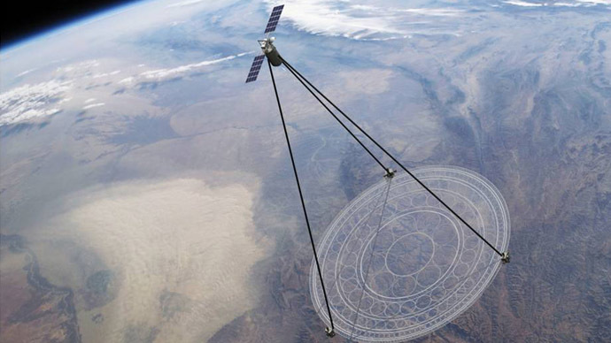 DARPA designs giant foldable satellite capable of surveiling 40% of Earth (VIDEO)