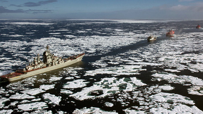 Putin orders Arctic military build-up in 2014
