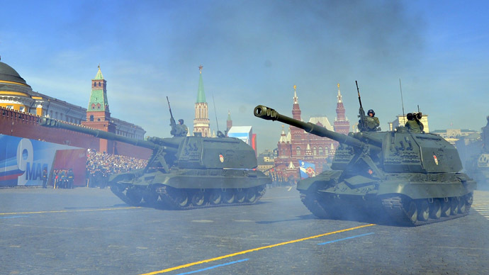 Tank triumphs over trunk! Putin permits just seven annual Red Square events