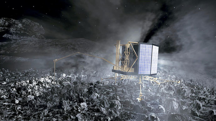 European space probe to attempt comet landing