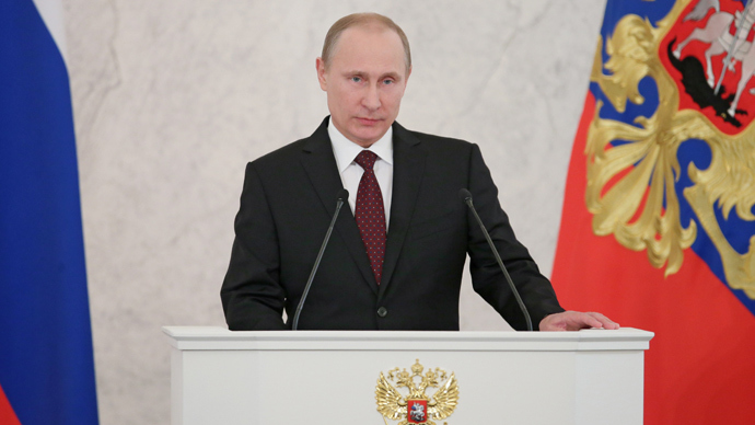 Putin addresses Federal Assembly LIVE UPDATES