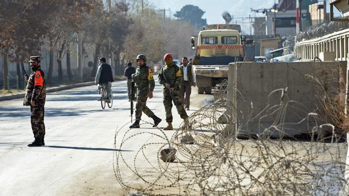 Blast near US embassy, ISAF HQ in Kabul