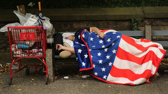 Hunger 'games' set to worsen with homelessness on the rise across America, survey says