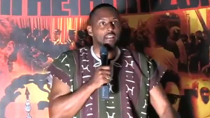 Ayo Kimathi (An image grab taken from You Tube video)