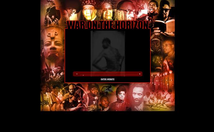 Screenshot from www.waronthehorizon.com