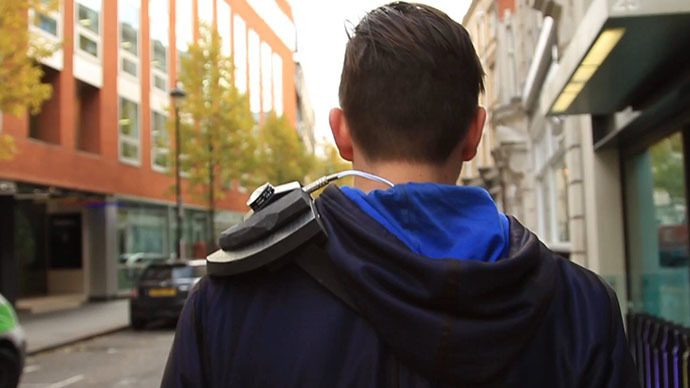 ​Wearable surveillance camera detection 'armor' makes its debut