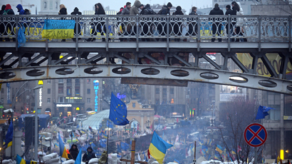 EU puts Ukraine integration deal on hold - bloc's enlargement chief