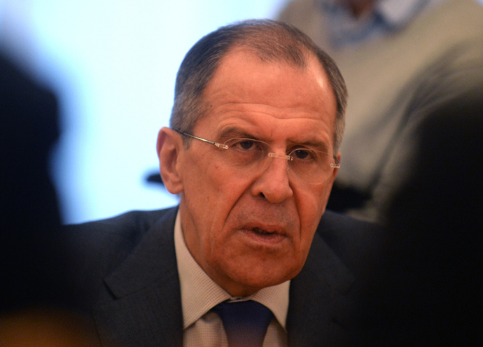 Russia's Foreign Minister Sergey Lavrov (AFP Photo / Vasily Maximov)