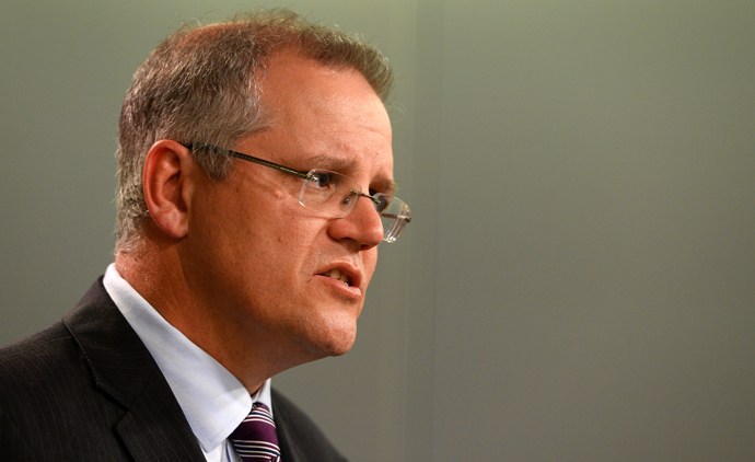 Australian Immigration Minister Scott Morrison (AFP Photo / William West)