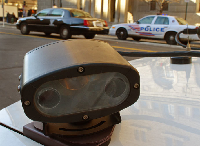 "A ""License Plate Reader,"" or LPR.(AFP Photo / Paul J. Richards)"