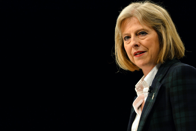 British Home Secretary Theresa May (AFP Photo / Paul Ellis)