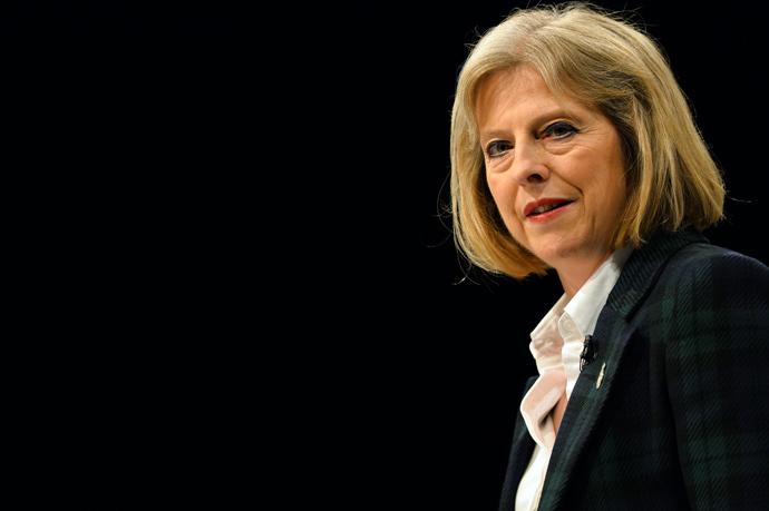British Home Secretary Theresa May (AFP Photo / Paul Ellis)