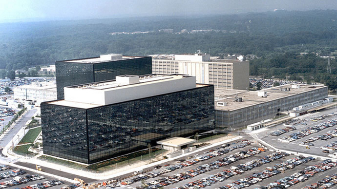 National Security Agency(NSA) at Fort Meade.(AFP Photo / HO)