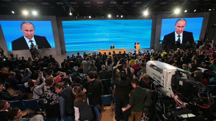 Putin's Q&A, as it happened: All the best quotes and realtime reaction