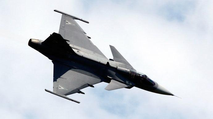 Saab Jas 39 Gripen.(Reuters / Dominic Ebenbichler)