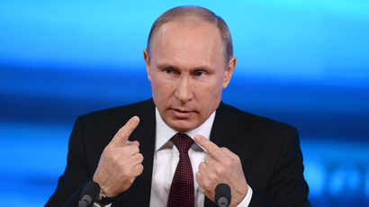 Putin suggests who could be Russia's 'politician # 2', has nothing to say about successor
