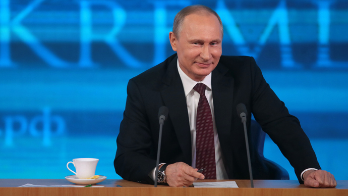 Putin: I envy Obama, because he can 'spy' and get away with it