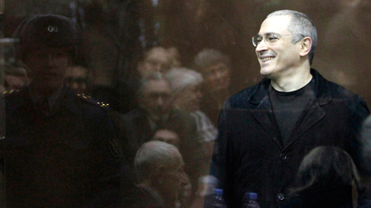 Khodorkovsky: Admitting guilt issue was not raised, I asked for pardon for family reasons