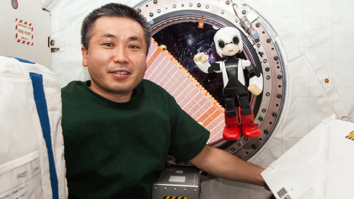 First space robot asks Santa for rocket for Christmas