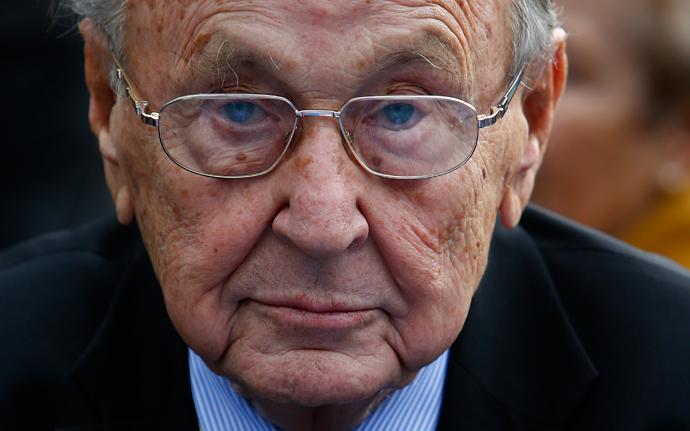 Hans-Dietrich Genscher (Reuters / Ralph Orlowski)