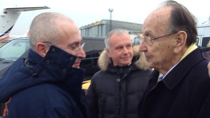 Khodorkovsky's first photo after arrival to Germany (source: khodorkovsky.ru)