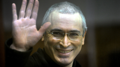 Court cuts sentence for Khodorkovsky partner Lebedev, can leave prison today