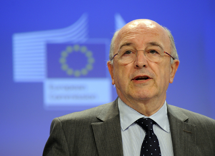 EU Commissioner for Competition Joaquin Almunia (AFP Photo / John Thys)
