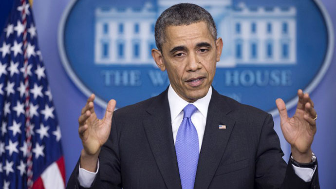 Obama defends NSA programs during rare White House press conference
