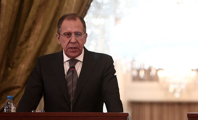Russian Foreign Minister Sergey Lavrov (AFP Photo / Behrouz Mehri)